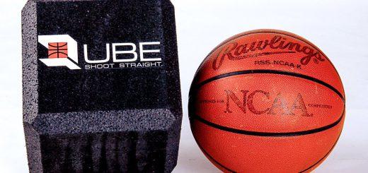 balón cubo baloncesto