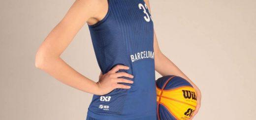 camiseta baloncesto femenino